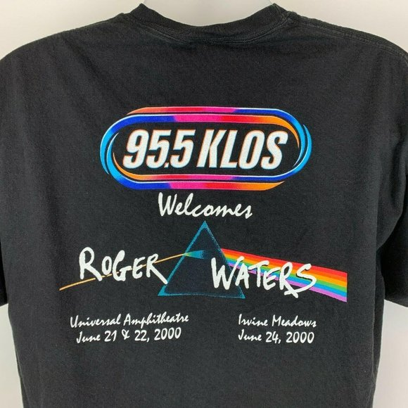 Vintage Roger Waters 2000 Tour KLOS XL T Shirt Tee